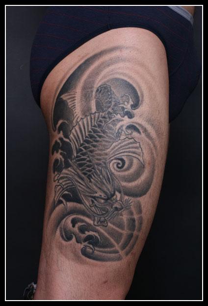 腿上的小纹身图案大全-花腿纹身图案大全男,纹身图案男腿部小图,女孩图片